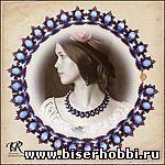 Колье для романтических натур - 6 Апреля 2012 - Схемы - Бисер не только красивое хобби...