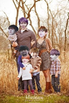 Such a beautiful family ㅋㅋㅋ