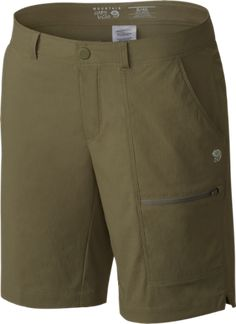 Mountain Hardwear Women's Metropass Bermuda Shorts Stone Green 10