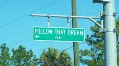 Follow That Dream Parkway, Yankeetown, Fl.