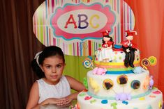 SÃO Abc Birthday Parties, Abc Party, Birthday Cake, Graduation Ideas, Roosters, December, City, Sweet Pastries, Events