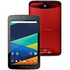 Visual Land Prestige Elite 8QI ME-8QI-16GB-RED 8-inch Tablet PC - Intel Atom 1.0 GHz Quad-Core Processor - 1 GB RAM - 16 GB Storage - Android 5.0 Lollipop - Red