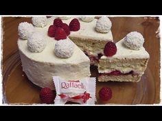 How to make a delicious RAFFAELLO RASPBERRY CAKE | Coconut Raspberry Cake with…
