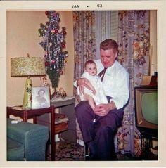 Christmas •~• vintage photograph, 1962