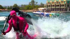 Water Jetpacking with Morph Suits in Lake Havasu, AZ!!!, via YouTube.