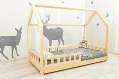 Skandinavischen Stil, handgefertigte Bett (Haus) für Ihr Kind. Farbe: Naturholz, neues Modell, schnelle Verarbeitung (10 Tage)!!! Bett für Kinder im skandinavischen Stil, das wird ein sicherer Ort für den Schlaf Ihres Kindes und unterstreicht das elegante und moderne Design Ihres