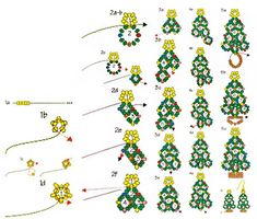 Homemade beaded Christmas tree, actually not for tree but for you - Pandahall.com