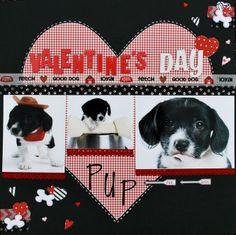 Valentine's Day Pup