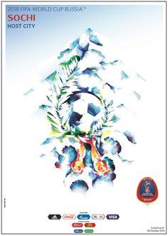 Presentan el Póster del Mundial de Rusia 2018 – Lev Yashin es la imagen | Vecindad Gráfica Diseño Gráfico