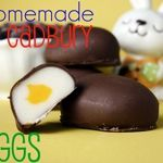 Homemade Cadbury eggs - the hubby would love this