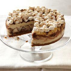 Platine Bakery S'Mores Cheesecake #williamssonoma
