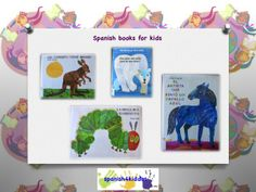 Spanish books by Eric Carle