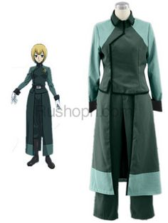 Mobile Suit Gundam 00 Louise Halevey Cotton Polyester Cosplay Costume