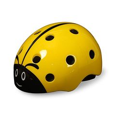 Features Material:PC Injection Moulded shell +EPS Polystyrene /Foam and ventilated hole ventilation system ,provide a comfortable and safe sports experience,good heat dissipation Anatomically shaped chin buckle Multi-color:The bright colors with. Bicycle Safety, Kids Bicycle, Snowboarding, Skiing, Kids Bike Accessories, Ladybug Cartoon, Kids Helmets, Safety Helmet, Cycling Helmet