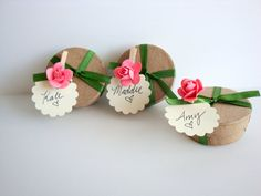 THREE 3 Secret message in a Paper box  Will you be my by Petite25, $36.00