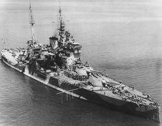 HMS Queen Elizabeth, 1943