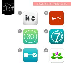 Love List: Favourite Fitness Apps | the fit lift