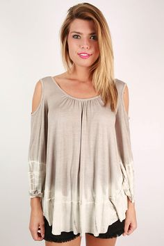 For this top, the name says it all! It's both comfortable and totally chic!