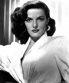 Jane Russell - what a beautiful, sexy-yet-classy woman!  I love her hair in this picture.