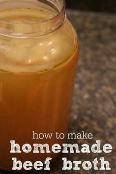 How to make frugal, nourishing homemade beef broth from scratch. Every cook needs homemade beef stock in their kitchen!