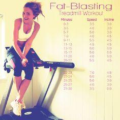Fat Blasting Treadmill #Workout program for #weightloss
