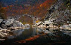 Europa Geografia Pics - Sala de Aula do site do Sr. Walsh, Ponte do Diabo, Bulgária