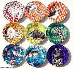 Rachel Kozlowski plates