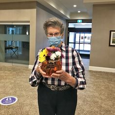 Residents of Holland Gardens Retirement Residence in Bradford got into the holiday spirit by creating their own Thanksgiving centrepieces 😄 #vervecares #community #goodtimes #thanksgiving #holidays Holland Garden, Thanksgiving Centerpieces, Good Times, Retirement, Holiday, Vacations, Holidays, Vacation, Annual Leave