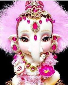 Such a cute loard Ganesha's idol. Jai Ganesh, Ganesh Lord, Shree Ganesh, Lord Krishna, Lord Shiva, Ganesh Wallpaper, Radha Krishna Wallpaper, Krishna Art, Hd Wallpaper