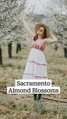 Morning Meaning, Northern California Travel, Almond Blossom, Sacramento, People, How To Wear, Beautiful, Fashion, Moda