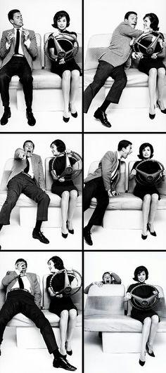 Dick Van Dyke & Mary Tyler Moore as 'Rob & Laura Petrie' in The Dick Van Dyke Show (1961-66, CBS)