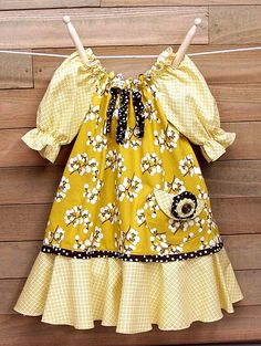 Buttercream Woodland Fairy Peasant Dress Brown Polka Dots  so cute! for my baby cousin