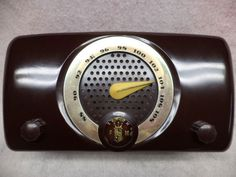 Here is a rare Zenith post war model that needs to be in any Zenith collection. It is their model 7H918FMONLY tube radio from 1949. The cabinet has been polished with my 4 step process that brings out the original factory finish.