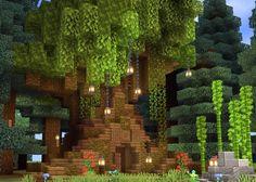 Casa Medieval Minecraft, Minecraft Garden, Minecraft Cottage, Minecraft Castle, Cute Minecraft Houses, Minecraft Houses Blueprints, Minecraft Plans, Minecraft Crafts, Minecraft Stuff