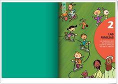 """Unidad 2 de Ciencias Sociales de 1º de Primaria: """"La familia"""" Editorial, Family Guy, Cover, Books, Fictional Characters, Socialism, Home, Interactive Activities, Social Science"""