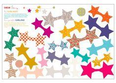kit festif guirlande étoiles