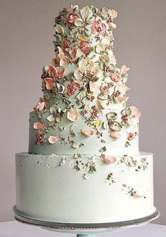 5 Wedding Cake and Dessert Makers You Can Get to Sweeten Your Big Day 5 Weddings . - 5 Wedding Cake and Dessert Makers You Can Get to Sweeten Your Big Day 5 Wedding Cake and Dessert Ma - Beautiful Wedding Cakes, Beautiful Cakes, Dream Wedding, Wedding Day, Wedding Ceremony, Wedding Cake Vintage, Big Wedding Cakes, Reception, Floral Wedding Cakes