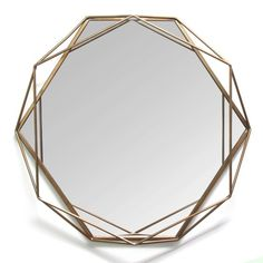 Chloe Gold Metal Wall Mirror | Kirklands