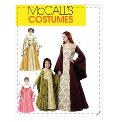 Misses'/Children's/Girls' Costumes...for Narnia costumes