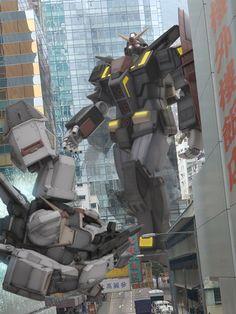 RX-178 / GUNDAM MK2 vs MRX-009 / PSYCO GUNDAM