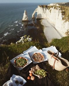 How to Get to Etretat From Paris ( screensavers) Etretat France, Picnic Time, What A Wonderful World, Adventure Is Out There, Travel Goals, Wonders Of The World, Adventure Travel, Places To See, Travel Inspiration
