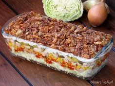 Chicken Bryan, Salad Recipes, Healthy Recipes, Serbian Recipes, Salad In A Jar, Easy Salads, Us Foods, Macaroni And Cheese, Meal Prep