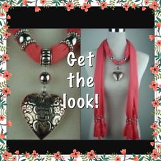 La Liberi Scarf & Charm Bundle New and unused. Received as a gift but it's not my style. First pic is idea only. Pics 2&3 are actual scarf and charm for sale. Make an offer via offer button! La Liberi Accessories
