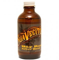 Suavecito Bay Rum After Bath, 4 oz Natural bay oil sooths Bottle of old fashioned bay rum Get that great just out of the barber's chair scent and feel After Bath, Bay Rum, Hair Removal Cream, Shaved Hair, See On Tv, After Shave, Shaving, Lotion, Rum