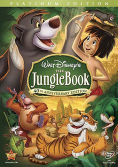 Walt Disney released The Jungle Book movie in 1967. The movie follows Rudyard Kipling's book and features some very memorable Disney music, too. The song The Bare Necessities was nominated for an Oscar for Best Music Original Song. #junglebook #disney