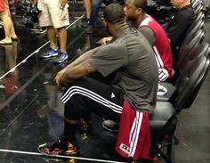 lebron james kings crown nba finals 1 LeBron James in Nike LeBron 11 Crown Jewel Before NBA Finals