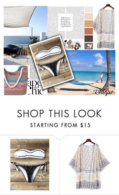 """Beach"" by difen ❤ liked on Polyvore featuring Anja"