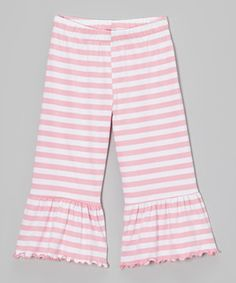 Love this style of pants pants for little girls
