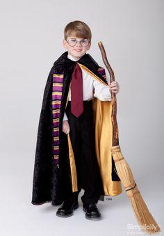 #HarryPotter Child's Wizard Costume! #SimplicityPatterns