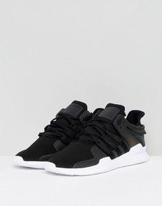 new arrival 56bef b4050 adidas Originals EQT Support ADV Sneakers In Black CP9557 - Black Eqt  Support Adv, Nike